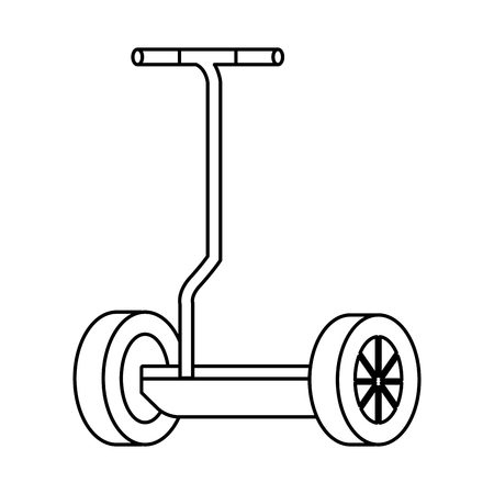 folding e-scooter isolated icon vector illustration design Imagens - 122581115