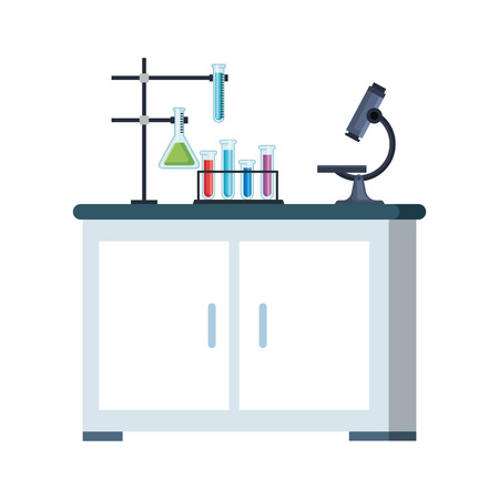 laboratory drawer isolated icon vector illustration design Banque d'images - 122506858