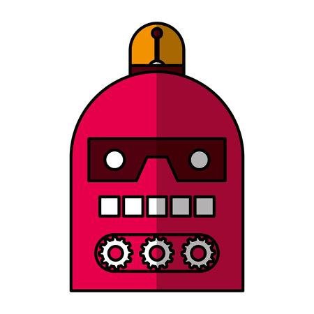 electric robot avatar character vector illustration design Foto de archivo - 122509459