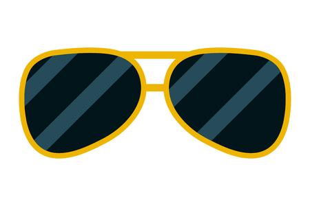 sunglasses accessory element icon vector illustration design Illustration