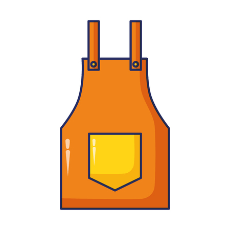 apron construction tool vector illustration design image Stock fotó - 122425053