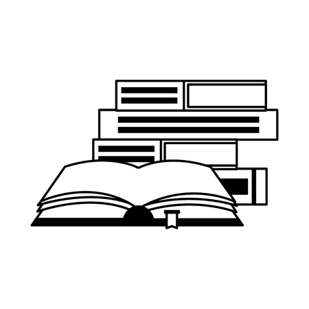 open book isolated icon vector illustration design Zdjęcie Seryjne - 122425056