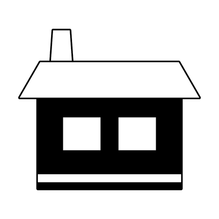 house home icon on white background vector illustration 스톡 콘텐츠 - 122427899