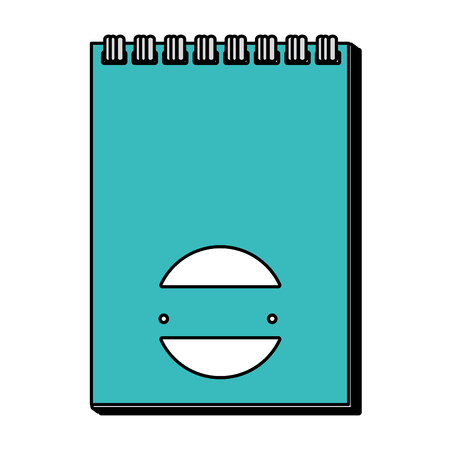 paper notepad isolated icon vector illustration design