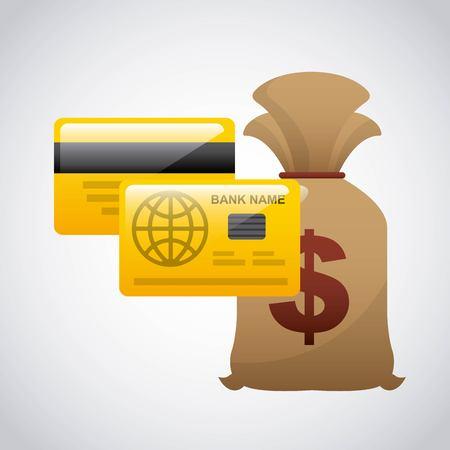 money concept design, vector illustration graphic Illustration