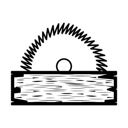 electric saw tool icon vector illustration design 스톡 콘텐츠 - 122506352