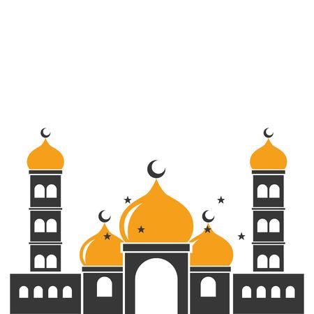 taj mahal ancient  india vector illustration design