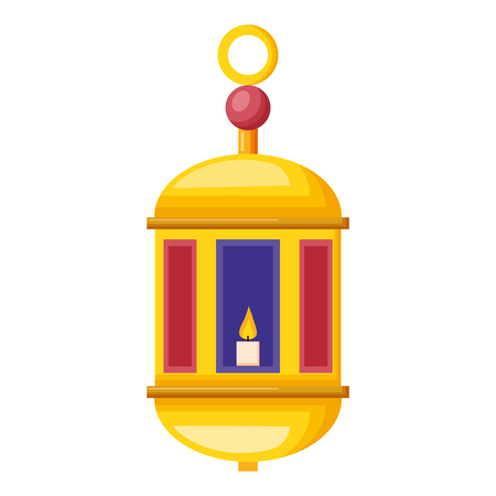ramadan kareem lantern ornament vector illustration design