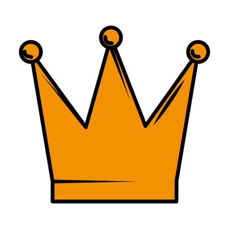 queen crown isolated icon vector illustration design Zdjęcie Seryjne - 122708909