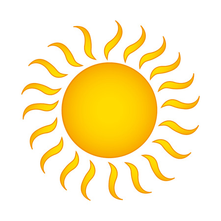 summer sun isolated icon vector illustration design Фото со стока - 122757289