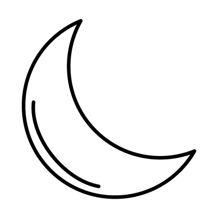 moon ramadan kareem vector illustration design