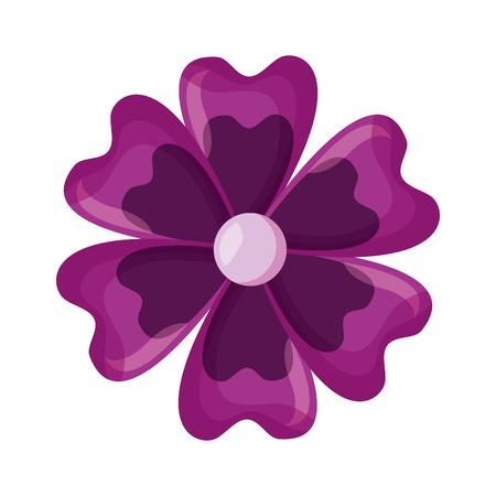 delicate flower decoration floral vector illustration  design Archivio Fotografico - 122982589