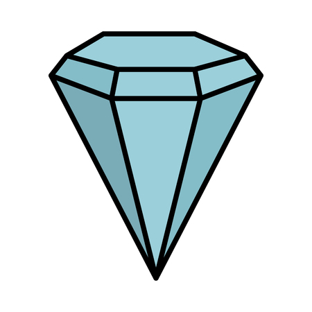 diamond luxury isolated icon vector illustration design Banque d'images - 122982592