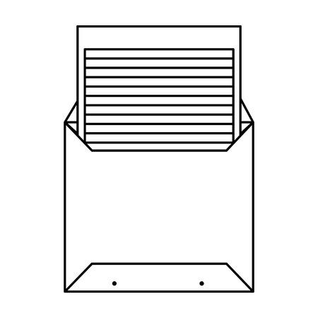 Enveloppe courrier icône sociale conception d'illustration vectorielle