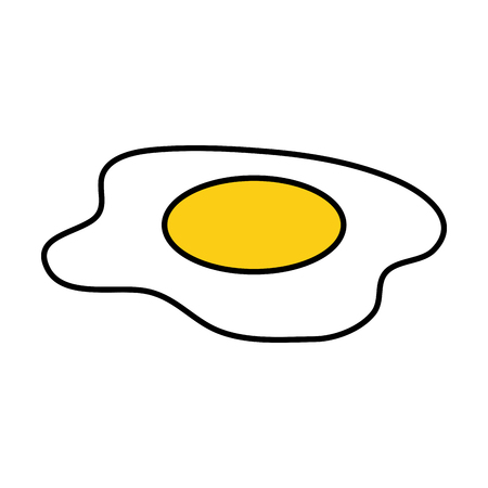 delicious eggs fried food vector illustration design Ilustracja