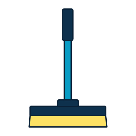 squeegee spring cleaning tools vector illustration design  イラスト・ベクター素材
