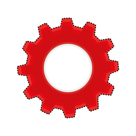 gears machine isolated icon vector illustration design Zdjęcie Seryjne - 123606407