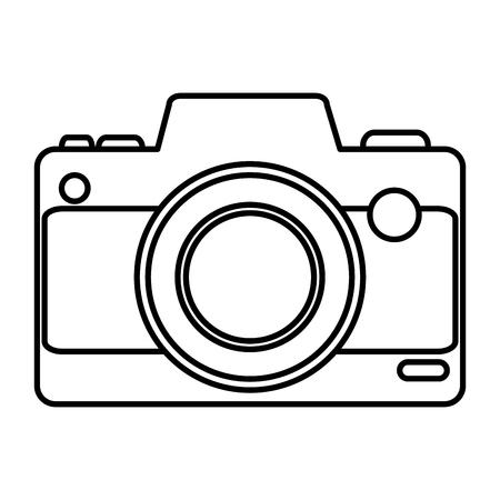 camera fotografisch apparaat pictogram vector illustratie ontwerp
