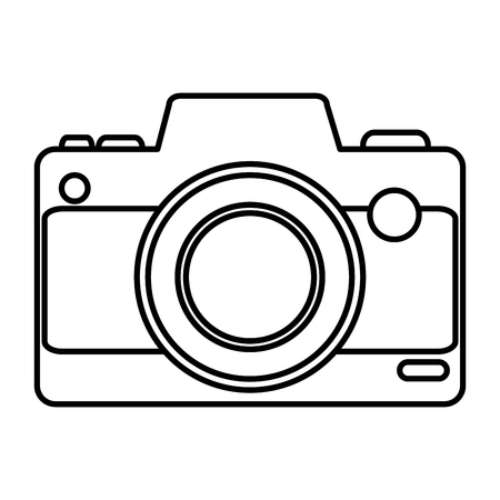 camera photographic device icon vector illustration design