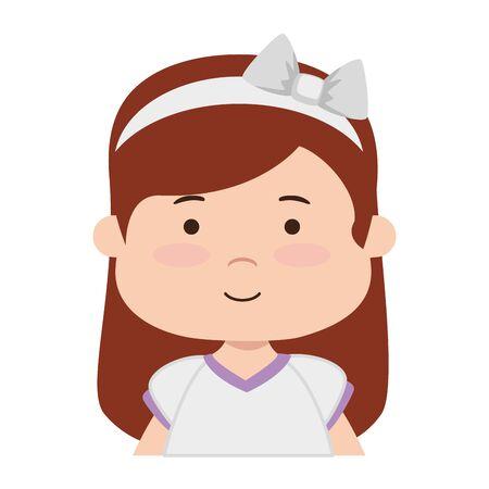 little girl first communion character vector illustration design Reklamní fotografie - 124722328