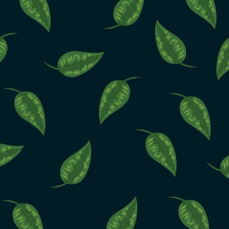 tropical leaves plants style background vector illustration