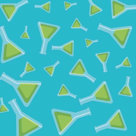 tubes test pattern background vector illustration design