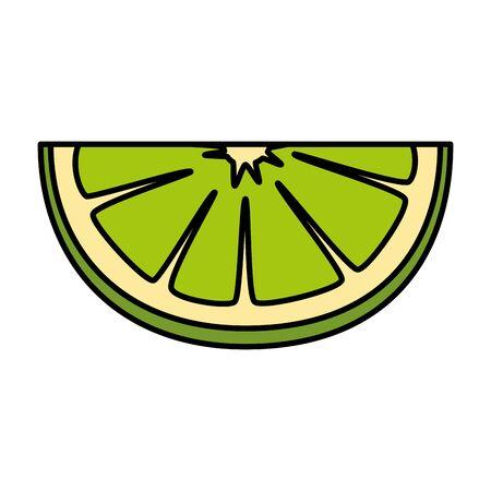 lemon citrus fruit icon vector illustration design Stok Fotoğraf - 124897686