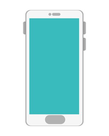 smartphone technology device isolated icon vector illustration design