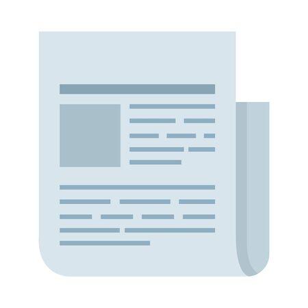 paper document file icon vector illustration design Vektoros illusztráció
