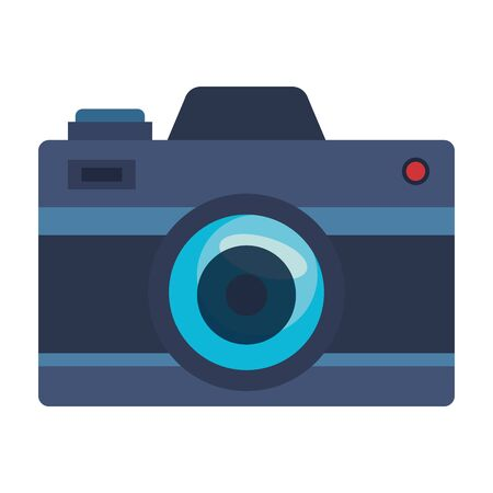 camera photographic gadget isolated icon vector illustration design
