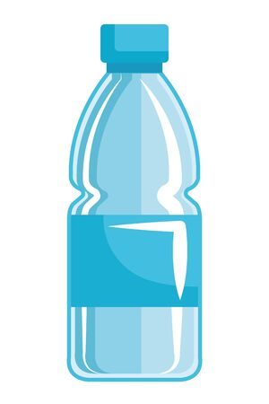 plastic bottle recycle icon vector illustration design Banque d'images - 124978576