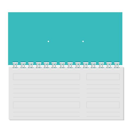 calendar with commercial promo print vector illustration design