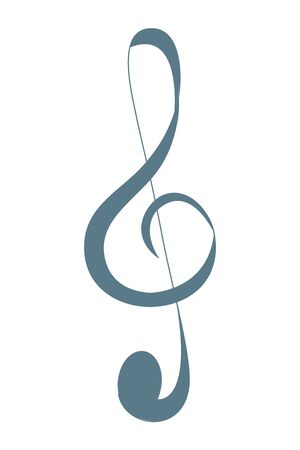 music note figure isolated icon vector illustration design