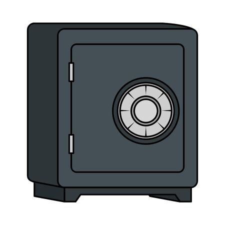 safe box savings security icon vector illustration design