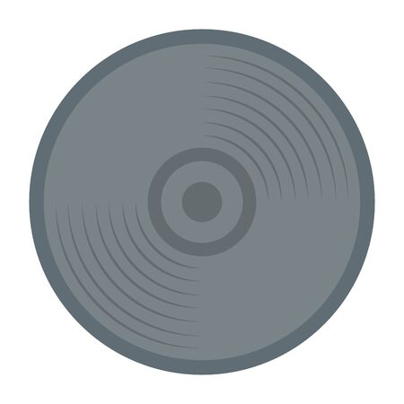 compact disk audio device icon vector illustration design Archivio Fotografico - 125286656