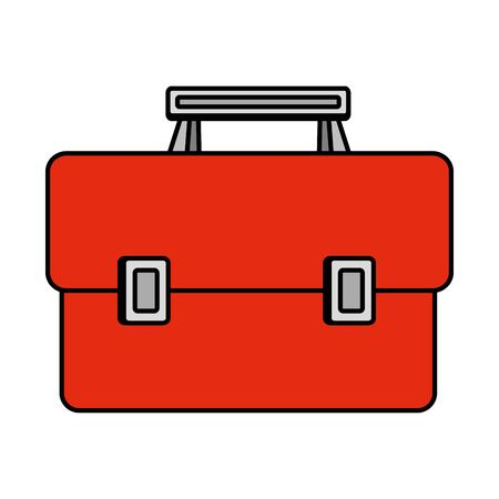 tools box handle icon vector illustration design