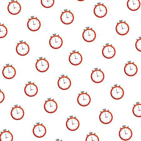 chronometer timer pattern background vector illustration design
