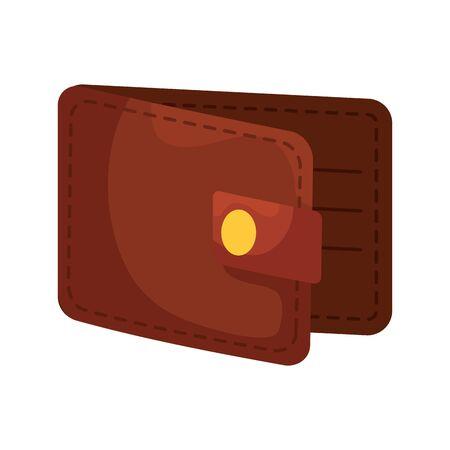 wallet money financial isolated icon vector illustration design Foto de archivo - 126464753