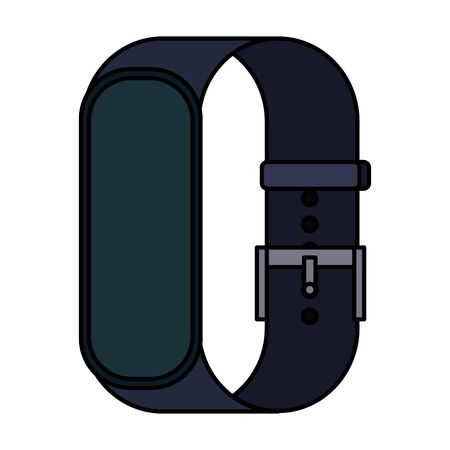 smartwatch weareable technology device vector illustration design Vectores