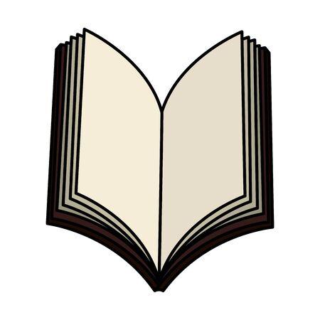 Diseño del ejemplo del vector del icono del libro de la Sagrada Biblia Ilustración de vector