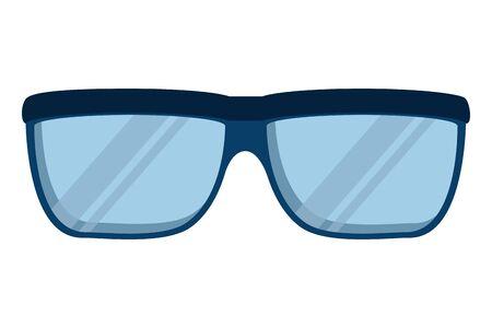 eye glasses accessory isolated icon vector illustration design  イラスト・ベクター素材