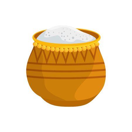 ramadan kareem dish with food traditional vector illustration design 版權商用圖片 - 127227849