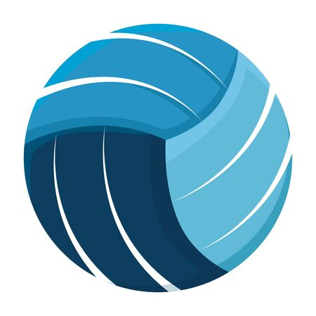 volleyball sport isolated icon vector illustration design Ilustrace