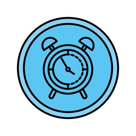 alarm clock isolated icon vector illustration design Reklamní fotografie - 127566065