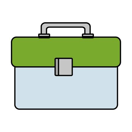 plastic tool box packing icon vector illustration design Stok Fotoğraf - 127638767