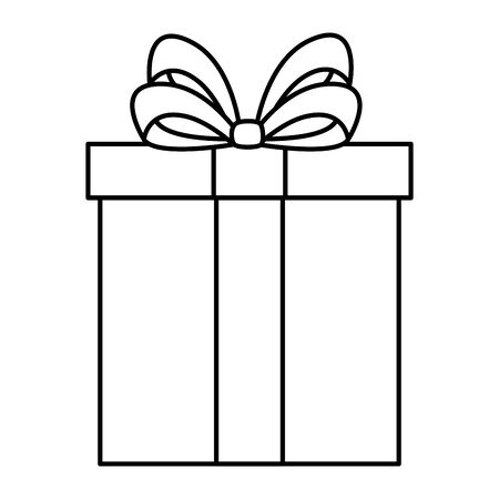 gift box present isolated icon vector illustration design 일러스트