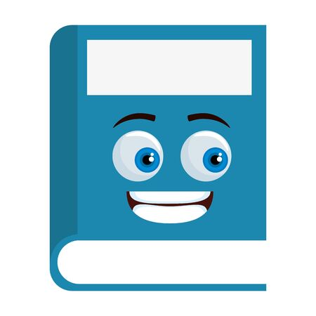 text book school  character vector illustration design Ilustração