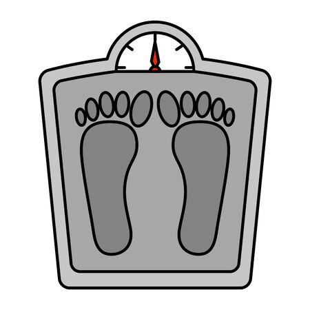 measure weight balance icon vector illustration design 일러스트