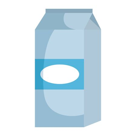milk box product icon vector illustration design