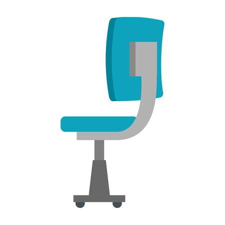 office chair equipment isolated icon vector illustration design Banque d'images - 128111924